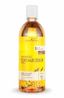 Shampoo Fortalecedor Com Extrato De Arnica - Gotas Verdes