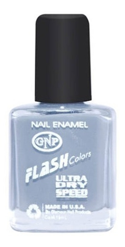 Imagen 1 de 4 de Esmalte Flash Colors De Gnp 9ml Nro.43 Gris Cemento