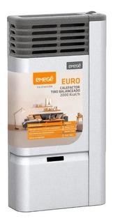 Calefactor Tiro Balanceado Emege Euro 2000c Multigas 2019