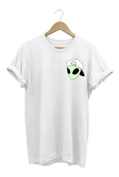 Camiseta Feminina Baby Look Et Alien Espelhado