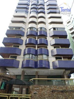 Apartamento Em Praia Grande,01 Dormitório, Sala Com Sacada,. Prédio Com Salão De Festas E Piscina Na Aviação Ap1635 - Ap1635