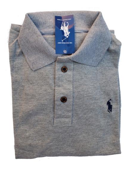 Kit Promocional 4 Camisetas Gola Polo Tamanho Extra Grande