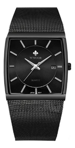 Relógio Pulso Luxo Original Unissex Wwoor