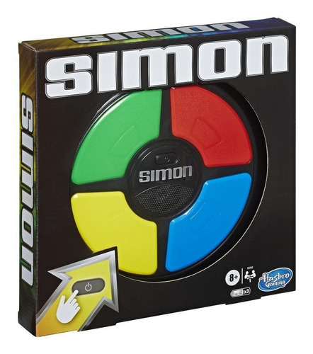 Simon Clasico Secuencia Says Swipe Hasbro B7962 Educando