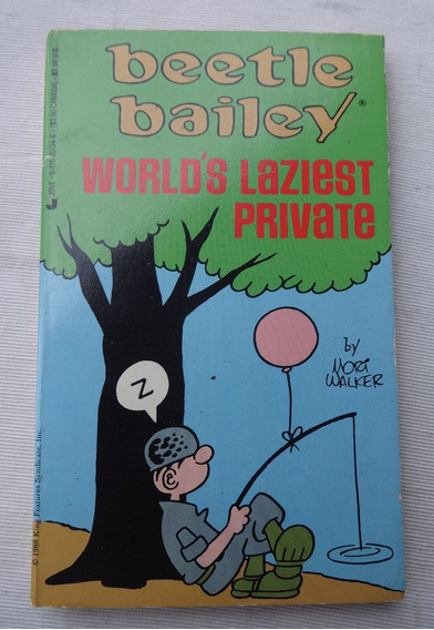Beetle Bailey World Laziest Private Recruta Zero Mort Walker