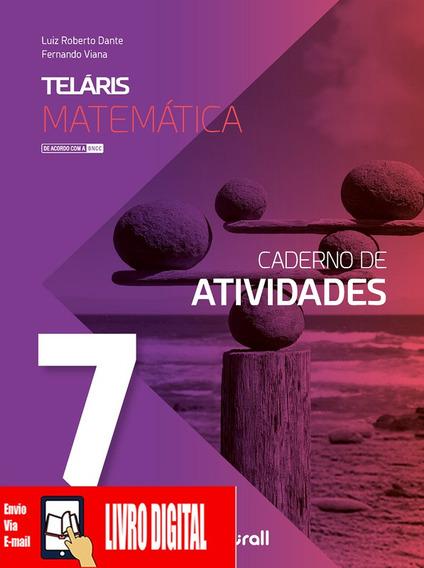Teláris - Matemática - Caderno De Atividades 7º Ano