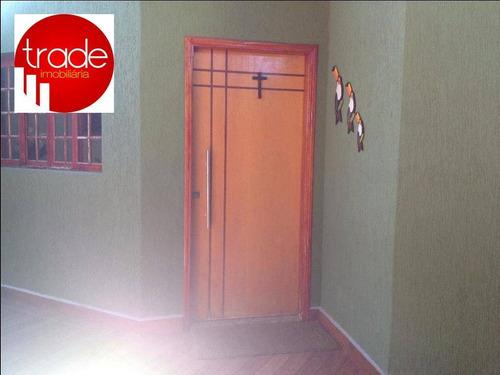 Casa Com 3 Dormitórios À Venda, 180 M² Por R$ 350.000,00 - Vila Tibério - Ribeirão Preto/sp - Ca1410