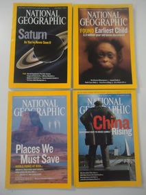 National Geographic Em Inglês 2006 E 2007 Preço Por Revista