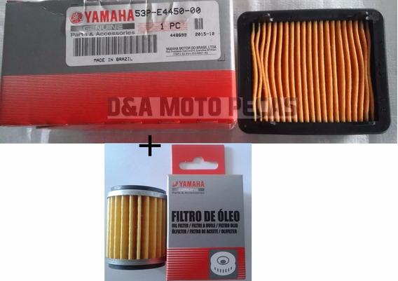 Filtro De Oleo + Filtro Ar Yamaha Lander 250 2016 Original