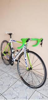 Bicicleta De Ruta Cannondale Evo , Réplica Con Sello Uci