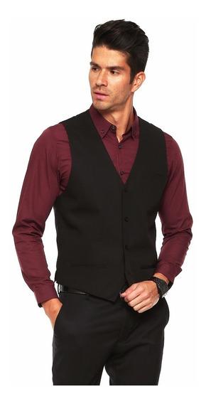 Chaleco De Vestir + Pantalon Semichupin De Vestir Hombre