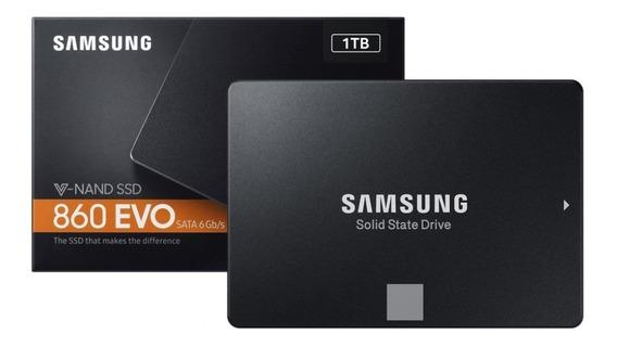 Ssd 1tb Samsung 860 Evo Orig Lacrado 5 Anos Garantia Nf
