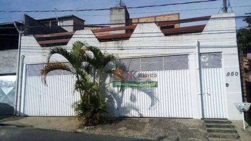 Imagem 1 de 16 de Casa Com 2 Dormitórios À Venda, 138 M² Por R$ 265.000,00 - Chácaras Silvestre - Taubaté/sp - Ca6632