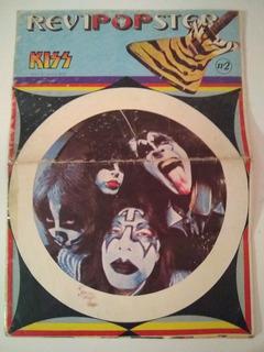 Lote Kiss X 2 Revista Y Reviposter Argentina Coleccion