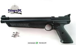 Pistola De Bomba Cal. .22 (oferta)