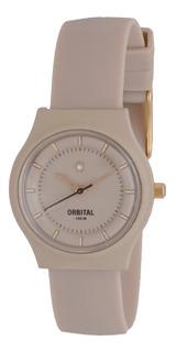 Reloj Orbital Caucho Ed393178 Sumergible Mini Cyber Outlet