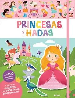 Libro De Stickers - Princesas Y Hadas