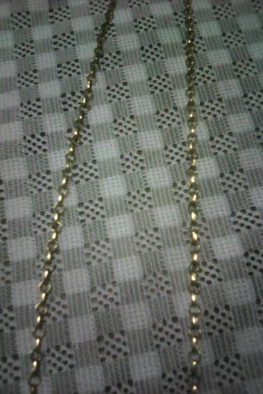 Corrente De Ouro 18k 750 5.2 Gramas 65 Cm