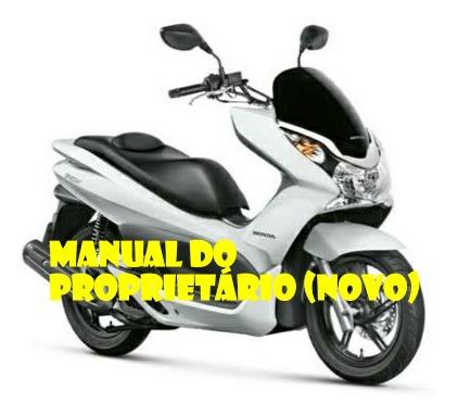 Manual Do Proprietário Honda Pcx 2014 (novo)