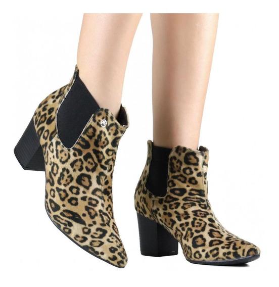 Bota Feminina Via Marte Ankle Boot 19-6951