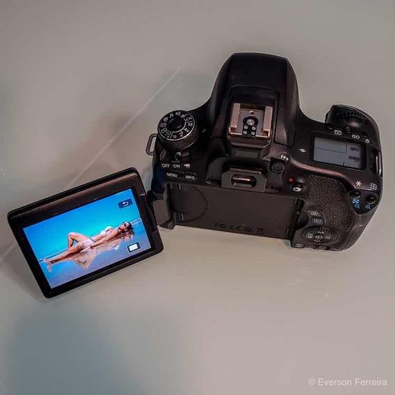 Camera Canon T6s (corpo)