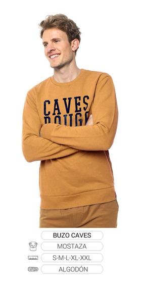 Buzo Caves Cuello Redondo