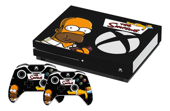 Skin Xbox One S Homer Simpson