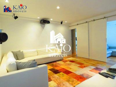 Apartamento Todo Mobiliado Com 2 Dormitórios À Venda, 166m²