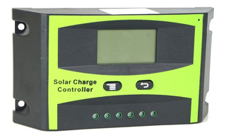 Controlador De Carga 20a 12v/24v Regulador Sistema Solar