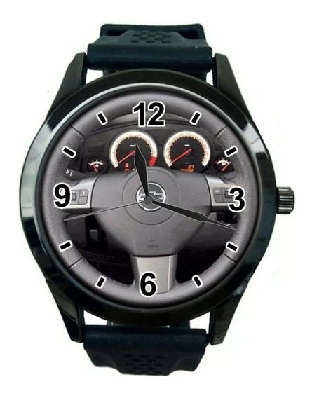 Relógio Pulso Personalizado Foto Volante Painel Vectra Gt