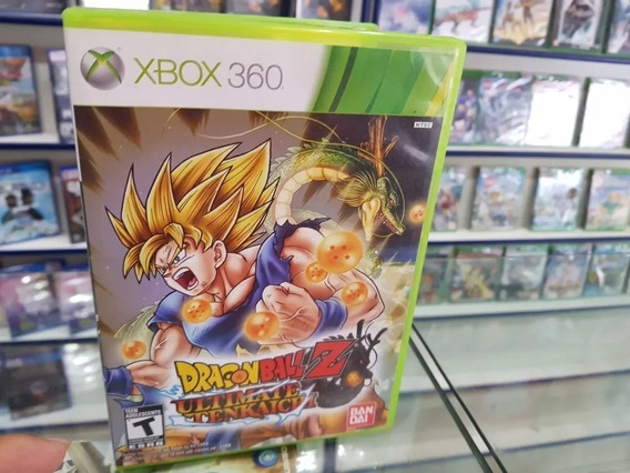 Dragon Ball Z Ultimate Tenkaichi Xbo. 360 Midia Física