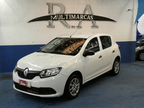 Sandero 1.0 Authentique Plus 2016 Peq. Ent. + 48x 889 Fixas
