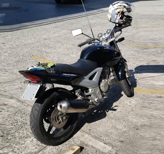 Honda Cb250 Preta Twister 2006 Freio Disco Traseira