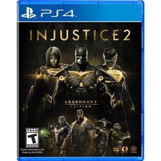 Injustice 2 Legendary Edition Ps4, Disco, Nuevo Y Sellado