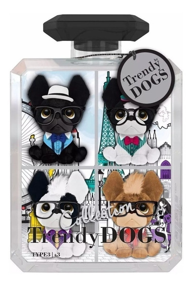Peluche Perro - Trendy Dog X 4 Mini