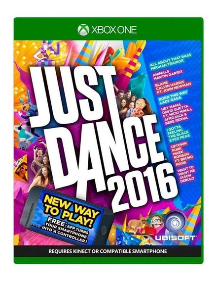 Just Dance 2016 Xbox One Mídia Física Pronta Entrega