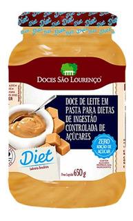Doce De Leite Diet 650g - Doces São Lourenço