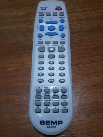 Controle Remoto Dvd Semp 3150 / Sd 7050 / Sd 7070 Original!!