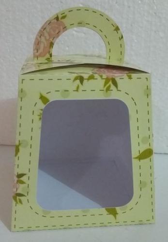 Imagem 1 de 2 de 10 Caixa Para Pote Personalizada P/ Dia Das Mães.