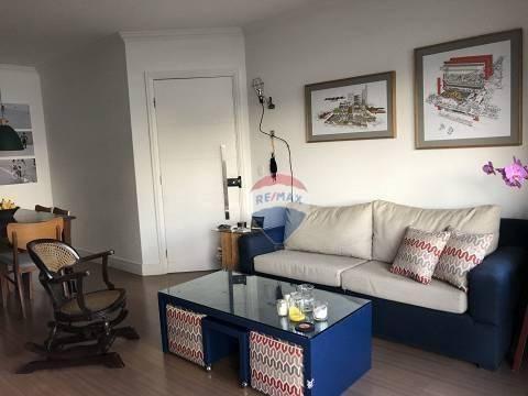 Apartamento Com 3 Dormitórios Para Alugar, 100 M² Por R$ 3.450,00/mês - Jardim Guedala - São Paulo/sp - Ap0699
