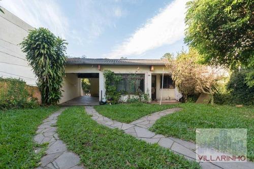 Casa Com 4 Dormitórios À Venda, 500 M² Por R$ 425.000,00 - Tristeza - Porto Alegre/rs - Ca0135