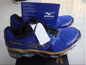 Tenis Mizuno Prophecy 2 Azul E Dourado Nº38 Ao 43 Original