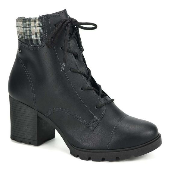 Promoção Bota Ankle Boot Coturno Feminino Dakota G1621