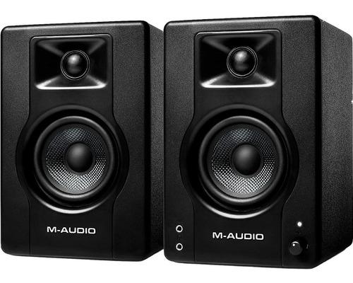 Imagen 1 de 4 de M-audio Bx3 Monitores Multimedia De Estudio Activos Por Par
