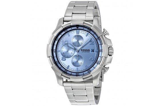 Relógio Fossil Fs5155 Masculino Es3385 Caixa De Aço Inoxidáv