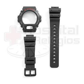 Kit Bezel + Pulseira G-shock Dw-6600 Dw-6900 Casio Original