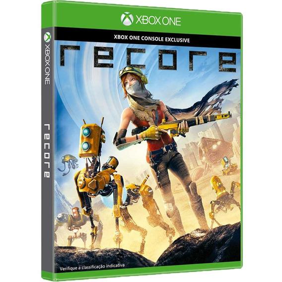 Jogo Recore Xbox One Midia Fisica Original Novo Português Br