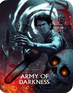 Blu-ray : Army Of Darkness (steelbook) (limited Edition,...