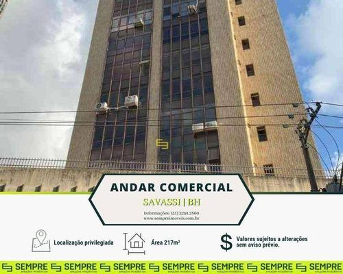 Imagem 1 de 22 de Andar Corporativo Para Alugar, 217 M² E 02 Vagas - Savassi - Belo Horizonte/mg - Ac0109