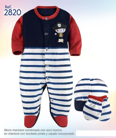 Mono Con Gorro Y Manoplas Ropa De Bebé Recien Nacido R2820